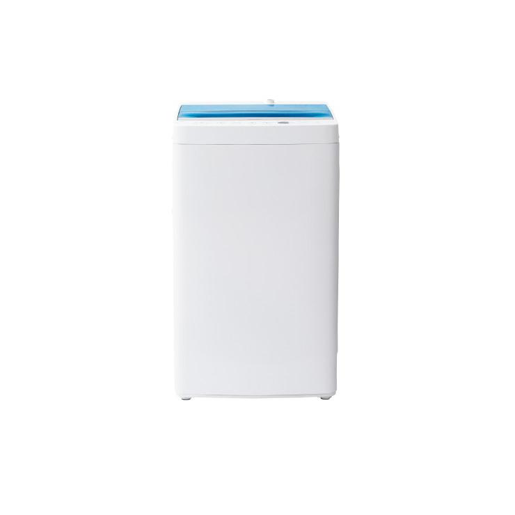 ハイアール 4.5kg 全自動洗濯機 JW-C45A-W ホワイト 上開き 洗濯 脱水 風乾燥 洗濯機 しわケア お急ぎコース 予約タイマー付(代引不可)【送料無料】