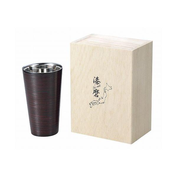 アサヒ こだわりの極み 食楽工房 2重ストレートカップ曙塗り SCW-L701【送料無料】