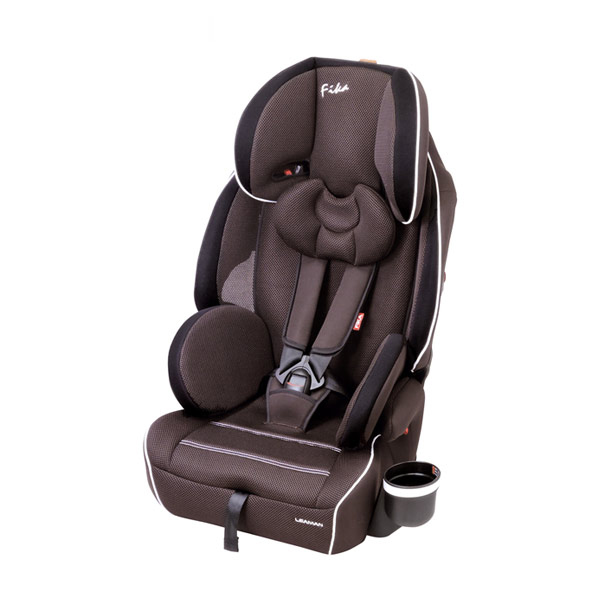 リーマン チャイルドシート JC432 フィーカDX ブラウン シートベルト取付方式【送料無料】
