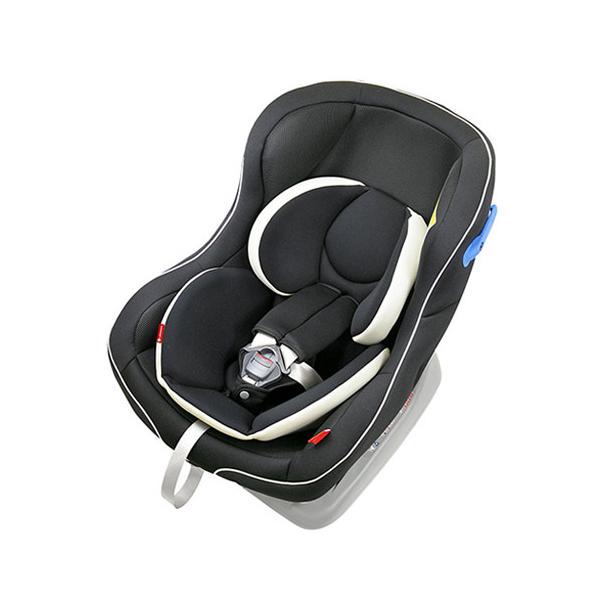 リーマン CE117 パミオウーノlight ブラック チャイルドシート シートベルト取付方式 新生児対応 日本製【送料無料】