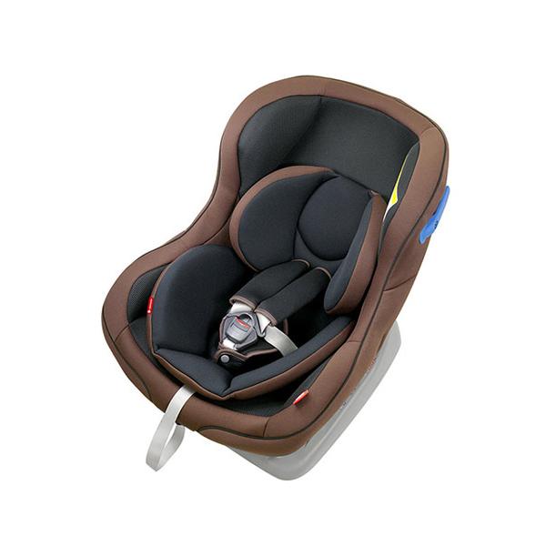 リーマン CE119 パミオウーノlight ブラウン チャイルドシート シートベルト取付方式 新生児対応 日本製【送料無料】