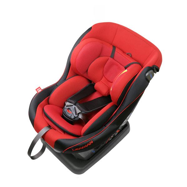 リーマン チャイルドシート CD105 レスティロ プライムレッド シートベルト取付方式【送料無料】