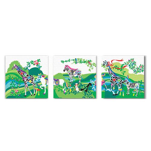 ホラグチカヨのアートパネルセット(hor-0009L,0009M,0009R)【送料無料】