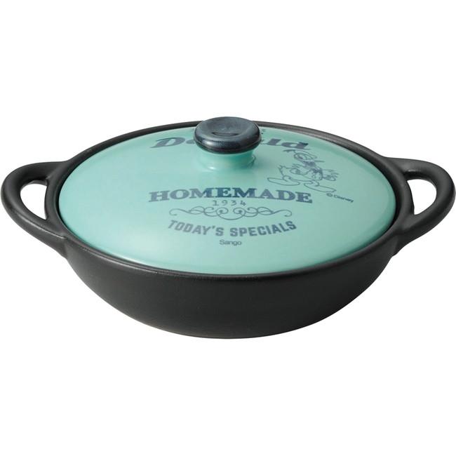 ディズニー グリル&キッチン 両手グリルパン14cm ドナルド 調理用品 3239-12(代引不可)