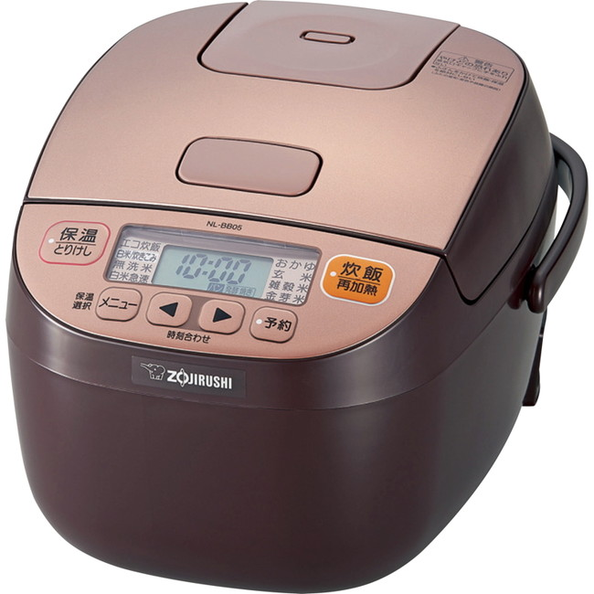 象印 マイコン炊飯ジャー3合炊 電気調理器具 NL-BB05-TM(代引不可)
