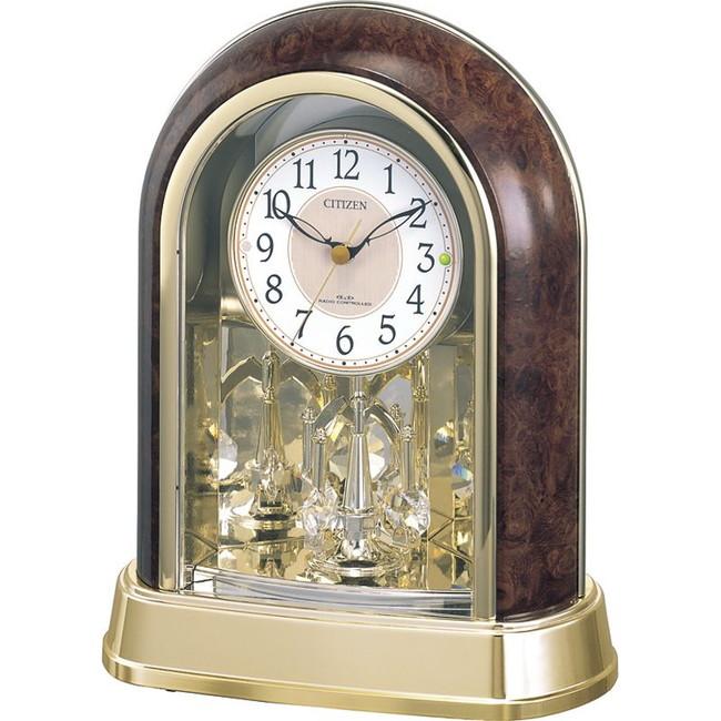 シチズン 回転飾り付電波置時計 置時計 4RY656-023(代引不可)