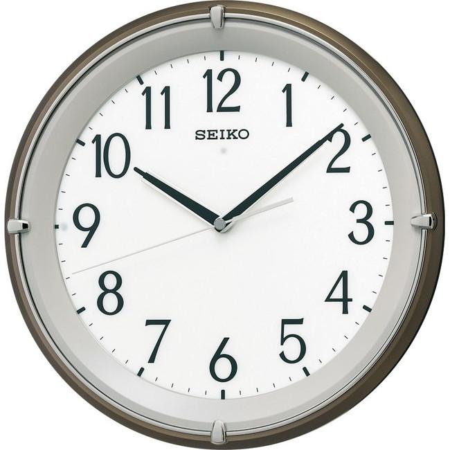 セイコー 全面点灯電波掛時計 掛時計 KX203B(代引不可)