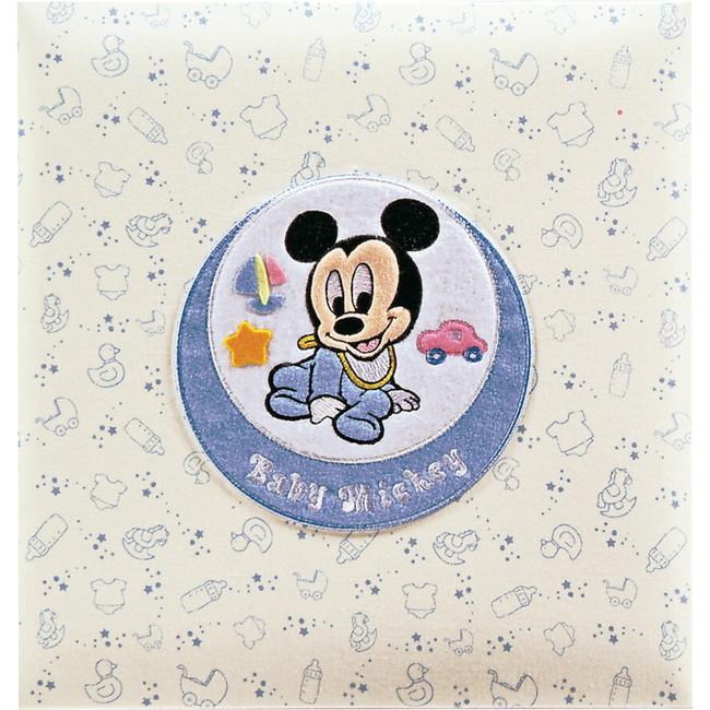 フエルアルバム ベビーミッキー&フレンズ アルバム ミッキー ベビー用品 ア-LB-617-1(代引不可)