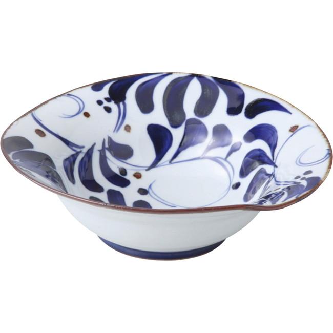 波佐見焼 karakusa なぶり大鉢 和陶器 14502(代引不可)