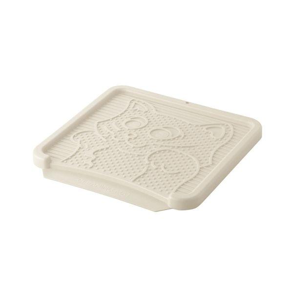 リッチェル NEWコロル 猫の砂取りマット ベージュ リッチェル NEWコロル 猫の砂取りマット ベージュ