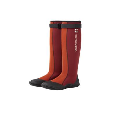 送料無料 グリーンマスター エンジ Sサイズ 送料無料新品 長靴 防水 代引不可 アウトドア レインブーツ ガーデニング ウェットスーツ素材 公式 伸縮