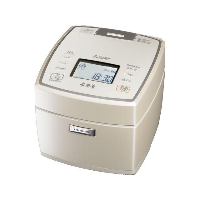 三菱電機 IH炊飯器 本炭釜 5.5合 NJ-VW109-W 白和三盆 IH 炊飯ジャー【送料無料】