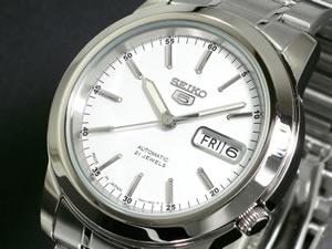 セイコー 5 SEIKO FIVE 腕時計 自動巻き メンズ SNKE49J1