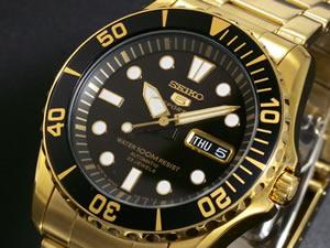 セイコー5 SEIKO ファイブ スポーツ 腕時計 自動巻き SNZF22J1
