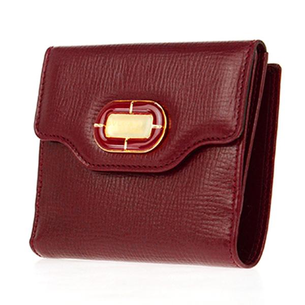【超新作】 ブルガリ BVLGARI 二つ折り短財布 レディース 35182 CALF/RED レッド【送料無料】, 道具文化 f8aa6596