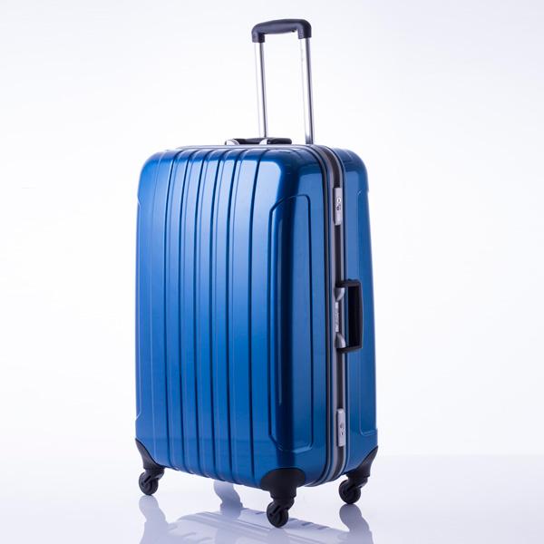 マンハッタン エクスプレス フリーク スーツケース 53-20032 ブルー 代引不可