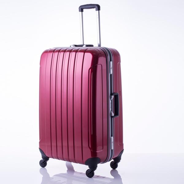 マンハッタン エクスプレス フリーク スーツケース 53-20033 レッド 代引不可