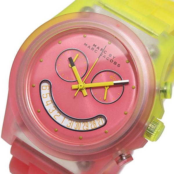 マークバイ マークジェイコブス クオーツ クロノ 腕時計 時計 MBM4576 ピンク