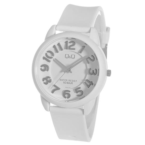シチズン キューアンドキュー クオーツ ユニセックス 腕時計 時計 VR66-002 ホワイト【ポイント10倍】【楽ギフ_包装】【inte_D1806】