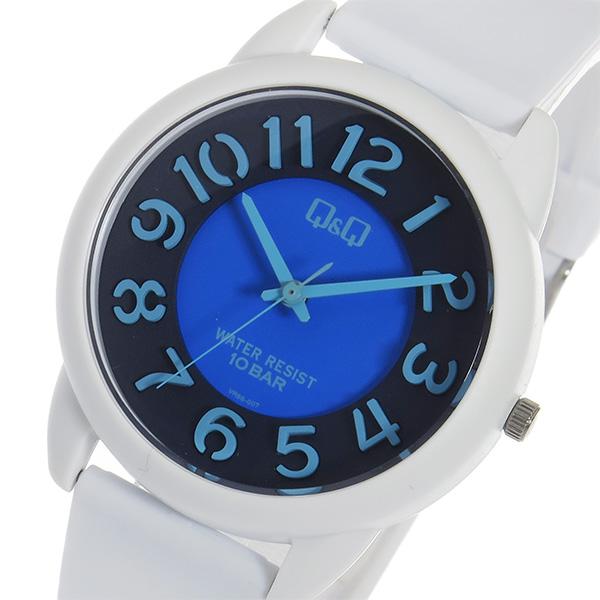 シチズン キューアンドキュー クオーツ ユニセックス 腕時計 時計 VR66-007 ブラック【ポイント10倍】【楽ギフ_包装】【inte_D1806】