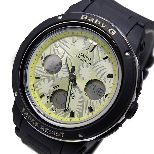 カシオ ベビージー Baby-G クオーツ レディース 腕時計 時計 BGA-150F-1A イエロー