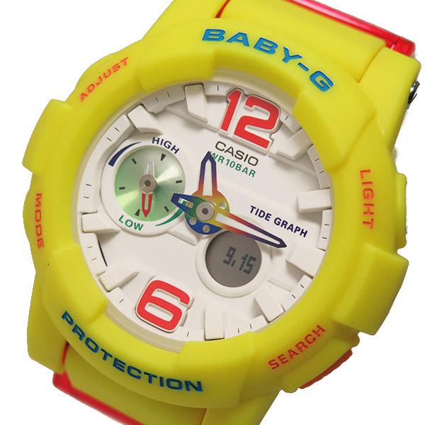 カシオ ベビージー Baby-G クオーツ レディース 腕時計 時計 BGA-180-9B ホワイト