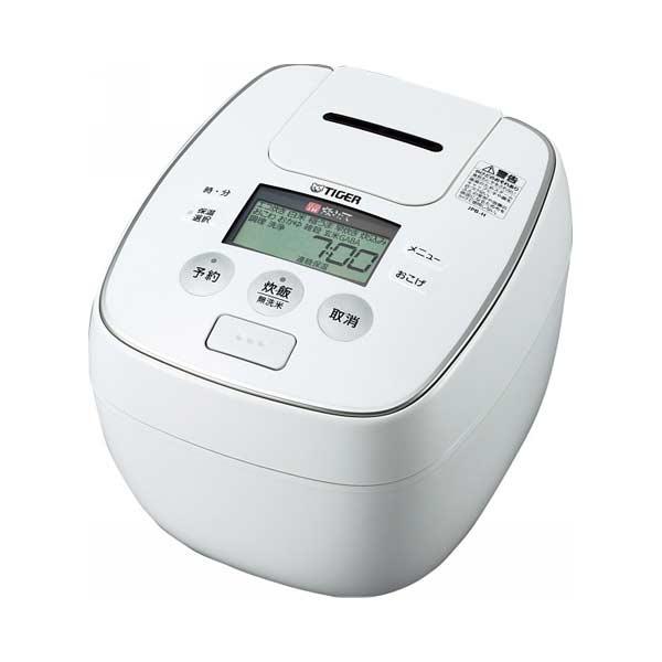 タイガー TIGER 圧力IH炊飯ジャー JPB-H100W 5.5合 ホワイト