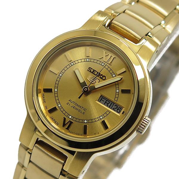 セイコー SEIKO クオーツ レディース 腕時計 時計 SYME58J1 ゴールド
