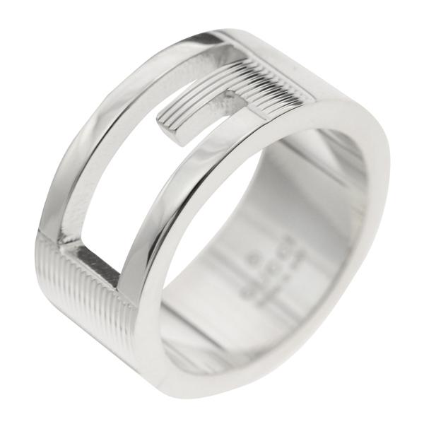 グッチ GUCCI ユニセックス リング 指輪 JP7号 032660-09840/8106/08 シルバー