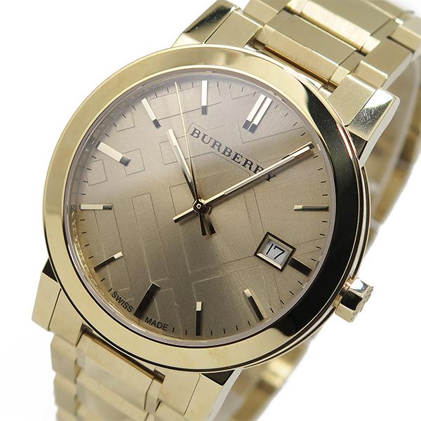 バーバリー BURBERRY シティ クオーツ メンズ 腕時計 BU9033 ゴールド【送料無料】