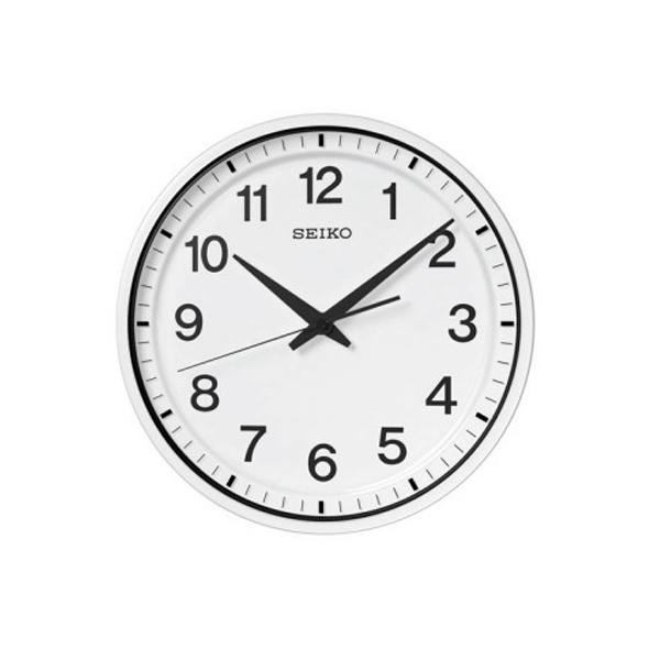セイコー SEIKO クロック 衛星電波 掛け時計 オフィスタイプ GP214W ホワイト
