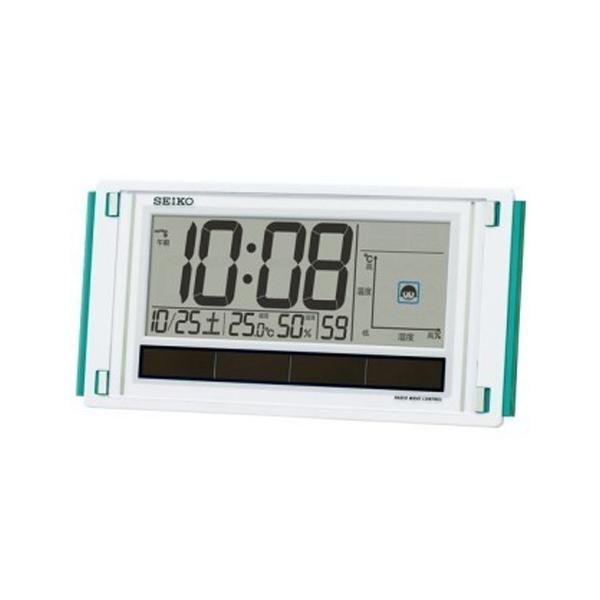 セイコー SEIKO 電波掛置兼用時計 SQ436W ホワイト