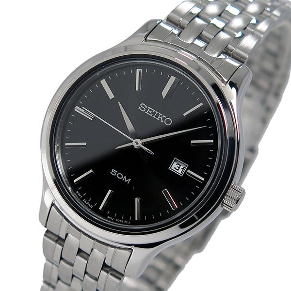 セイコー SEIKO クオーツ レディース 腕時計 時計 SUR795P1 ブラック