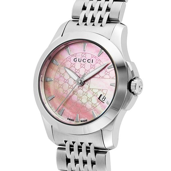 グッチ GUCCI Gタイムレス クオーツ レディース 腕時計 YA126532 ピンクパール【】【ポイント10倍】【楽ギフ_包装】