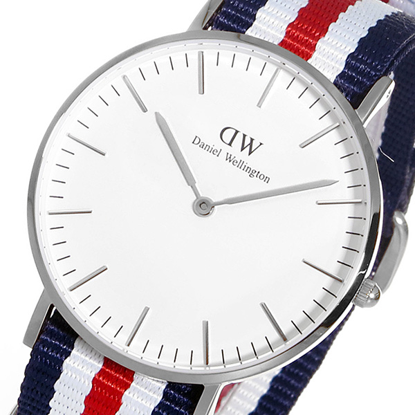 ダニエル ウェリントン カンタベリー/シルバー 36mm クオーツ 腕時計 時計 0606DW