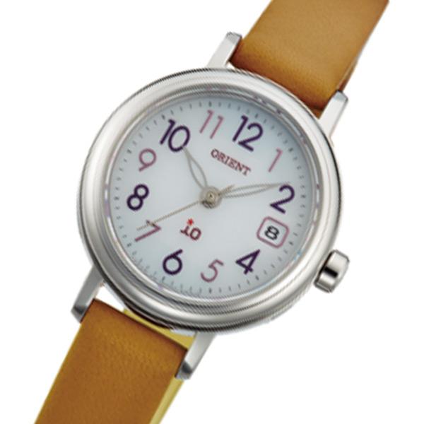 オリエント ORIENT イオ iO ソーラー レディース 腕時計 時計 WI0051WG ベージュ 国内正規