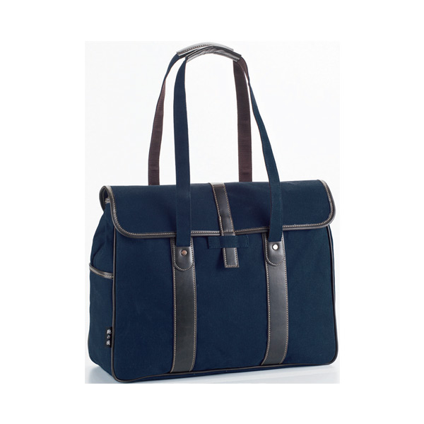 鞄の國 帆布シリーズ メンズ ショルダーバッグ 2657203 ネイビー 国内正規
