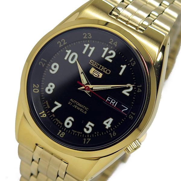 セイコー SEIKO 自動巻き メンズ 腕時計 時計 SNK596J1 ブラック