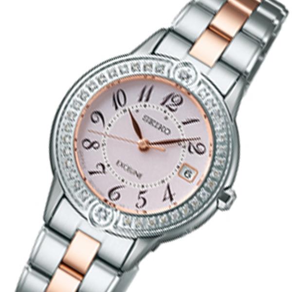 セイコー エクセリーヌ レディース 腕時計 SWCW073 ピンク 国内正規【送料無料】【ポイント10倍】