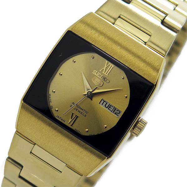 セイコー SEIKO セイコー5 ドレス レディース 自動巻き 腕時計 時計 SYM636J1 ゴールド