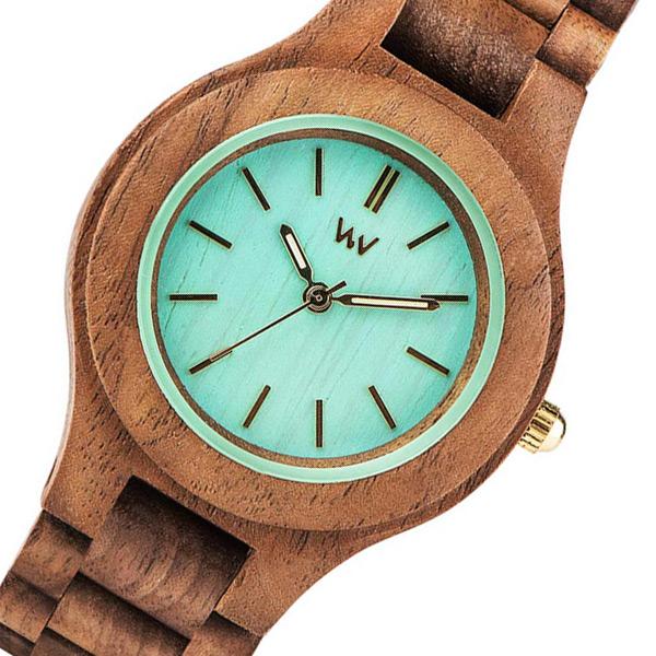 ウィーウッド WEWOOD 木製 レディース 腕時計 時計 ANTEA-NUT-MINT グリーン 国内正規