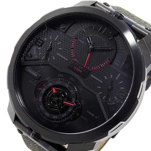 ディーゼル DIESEL クオーツ メンズ 腕時計 時計 DZ7358 ブラック