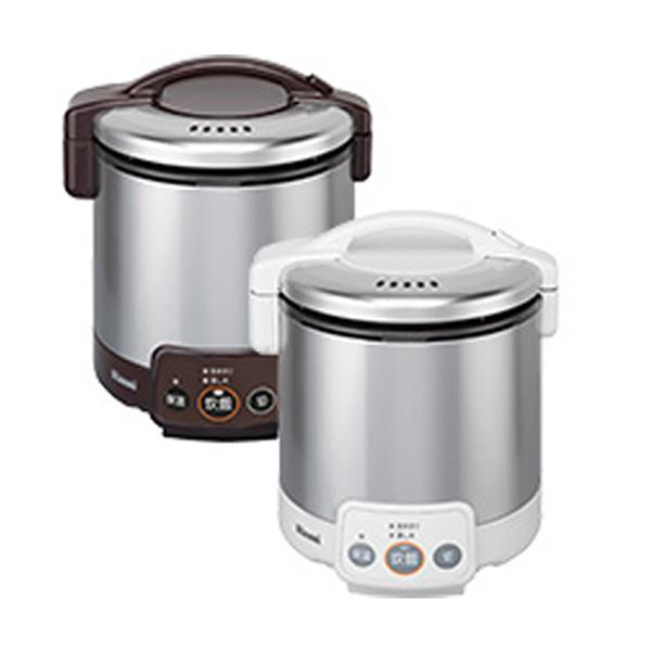 リンナイ こがまる ガス炊飯器 都市ガス用 RR050VM-W-13X ホワイト