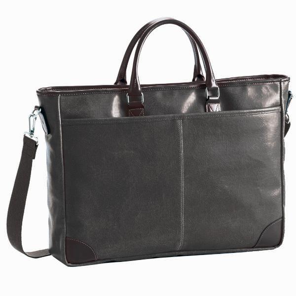 アンディハワード 白化合皮 ビジネスバッグ メンズ 2652101 ブラック 国内正規