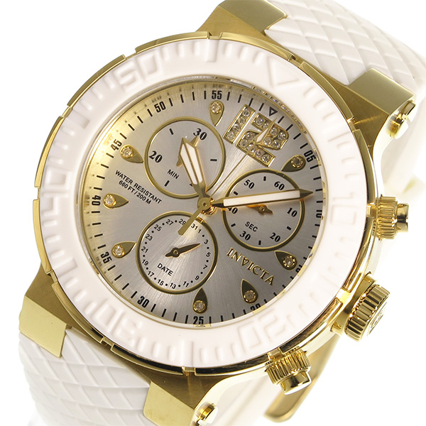 インヴィクタ INVICTA クオーツ レディース 腕時計 時計 90281 シルバー