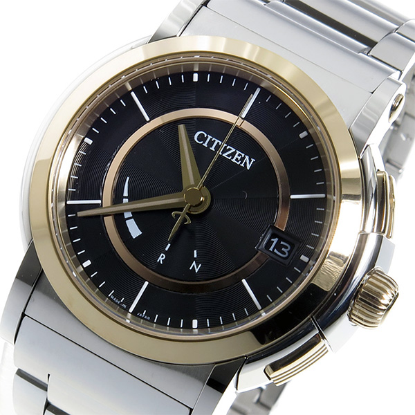 シチズン ソーラー電波 エコドライブ クオーツ メンズ 腕時計 CNG72-0012 ブラック【送料無料】