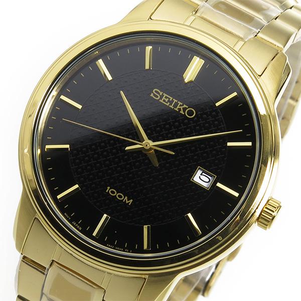 セイコー SEIKO クオーツ メンズ 腕時計 時計 SUR200P1 ブラック