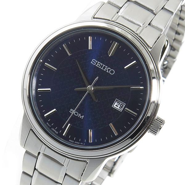 セイコー SEIKO クオーツ レディース 腕時計 時計 SUR749P1 ネイビー
