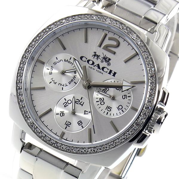 コーチ COACH クオーツ レディース 腕時計 14502126 シルバー【送料無料】