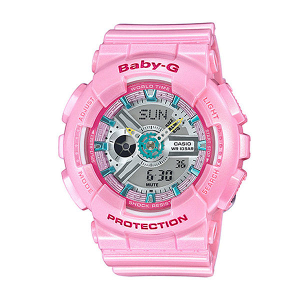 カシオ ベビーG BABY-G クオーツ レディース 腕時計 時計 BA-110CA-4A ピンク